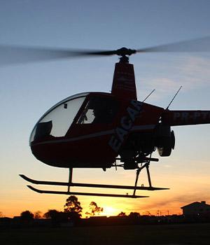 Curso prático helicóptero em Curitiba
